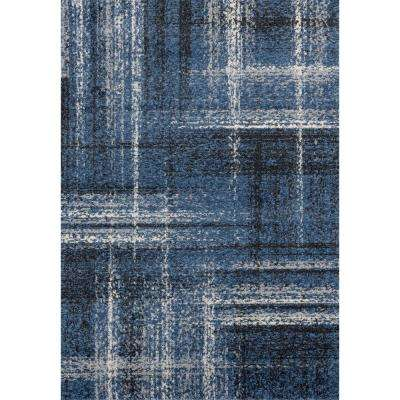 Serenity Helem Midnight Blue 5 ft. 3 in. x 7 ft. 2 in. Area Rug