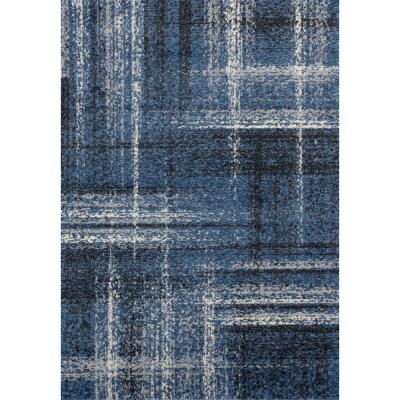 Serenity Helem Midnight Blue 7 ft. 10 in. x 10 ft. 6 in. Oversize Rug