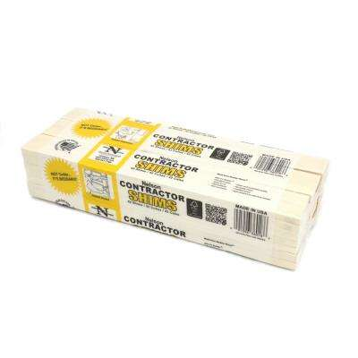 12 in. Contractor Shims 42-Per Bundle