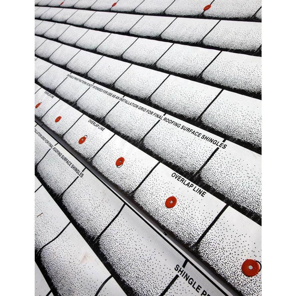 x 250 ft 15 Roll Synthetic Slip Resistant Surface Roofing Underlayment 48 in