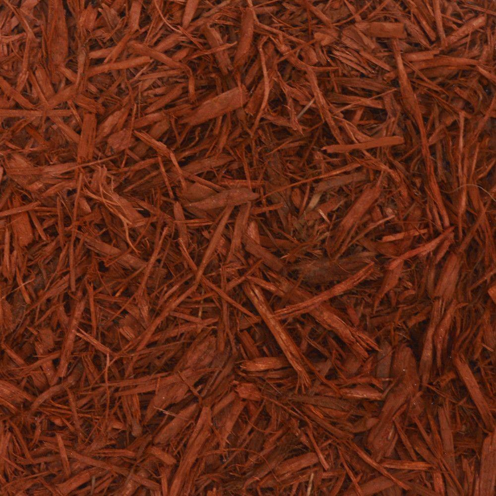 null 11 cu. yd. Red Landscape Bulk Mulch