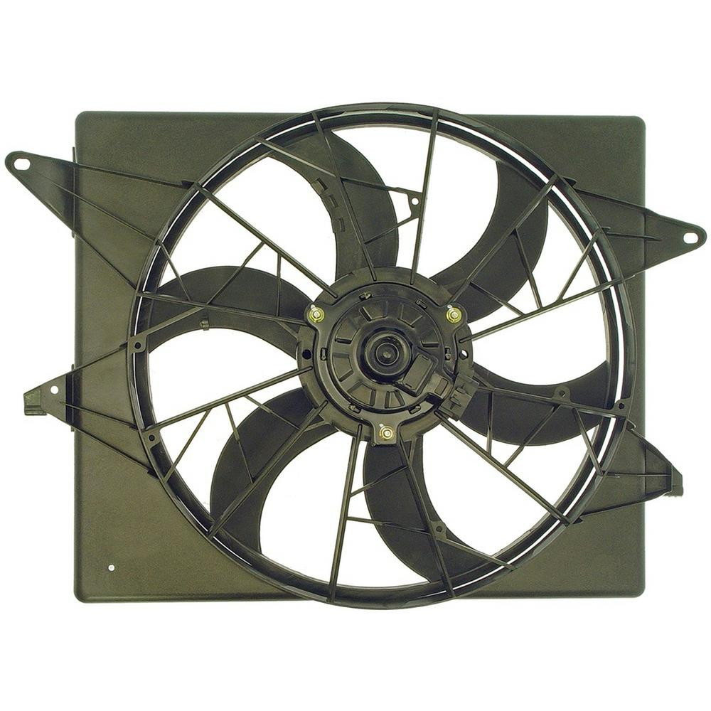 Engine Cooling Fan Embly