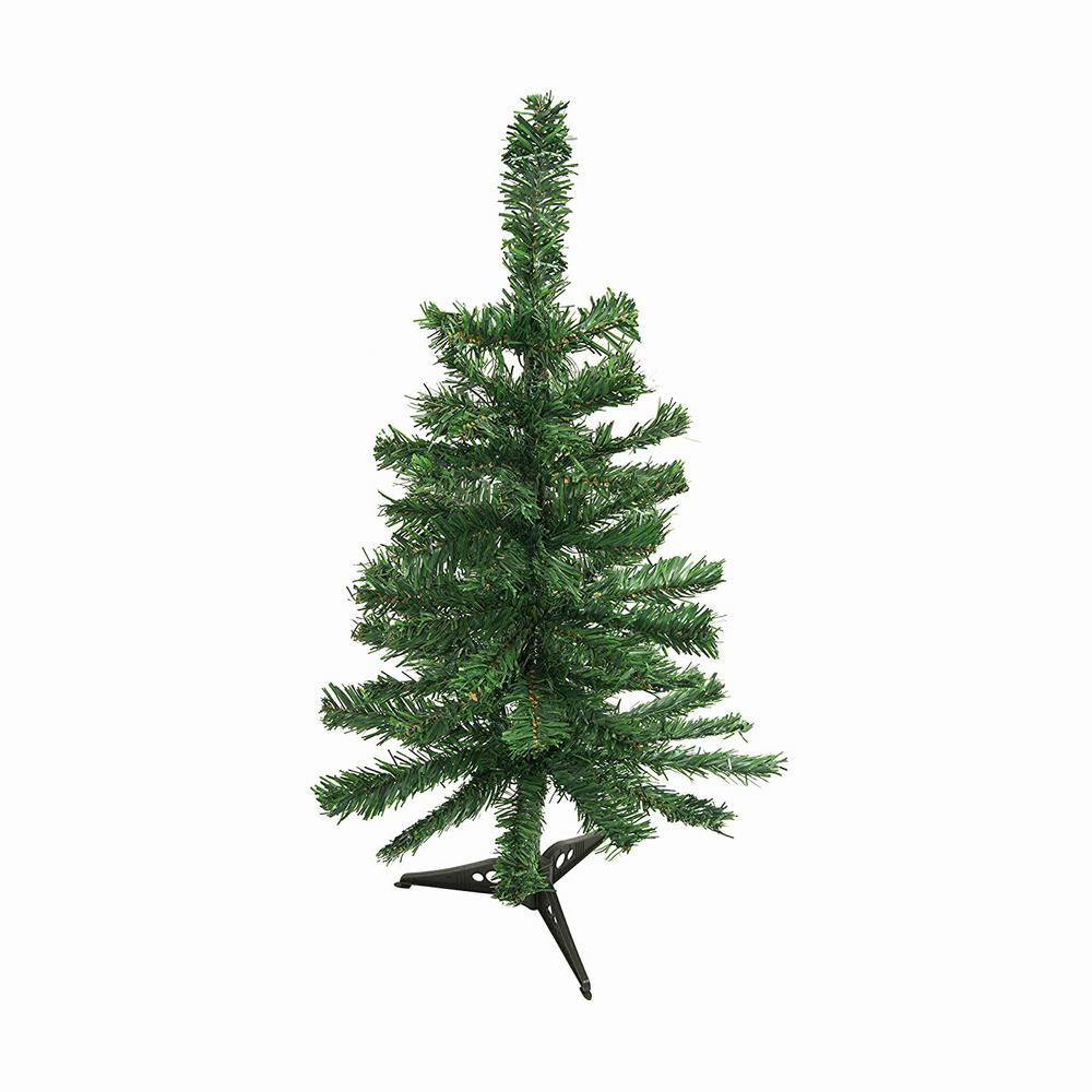 12 Ft Christmas Trees: ALEKO 2 Ft. Unlit Artificial Christmas Tree-CT24H12-HD