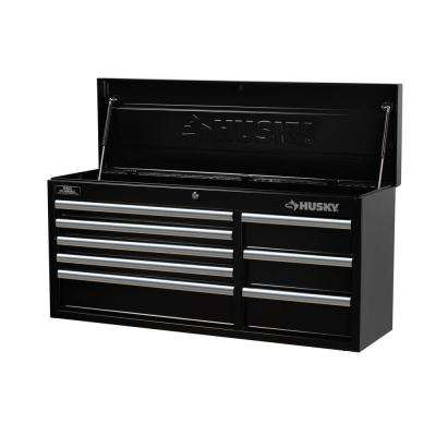 41 in. 8-Drawer Tool Chest, Black