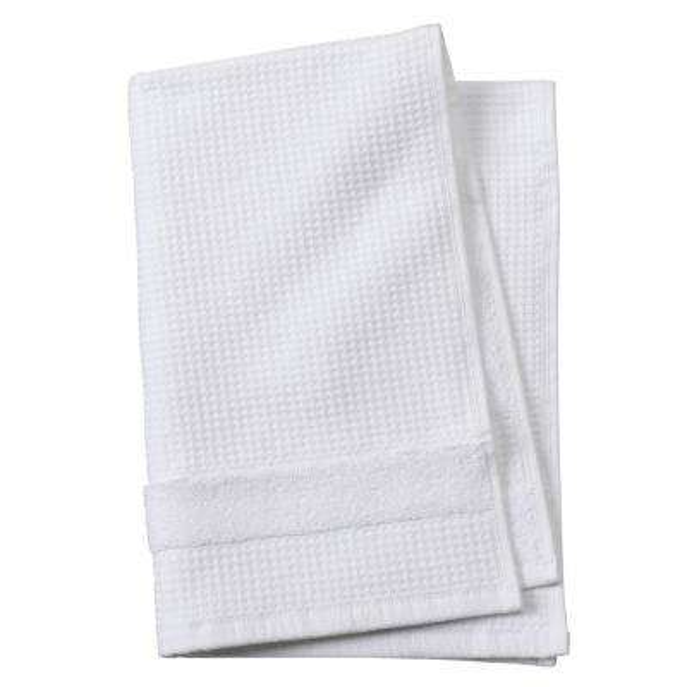 Verona Waffle 1-Piece Hand Towel in White
