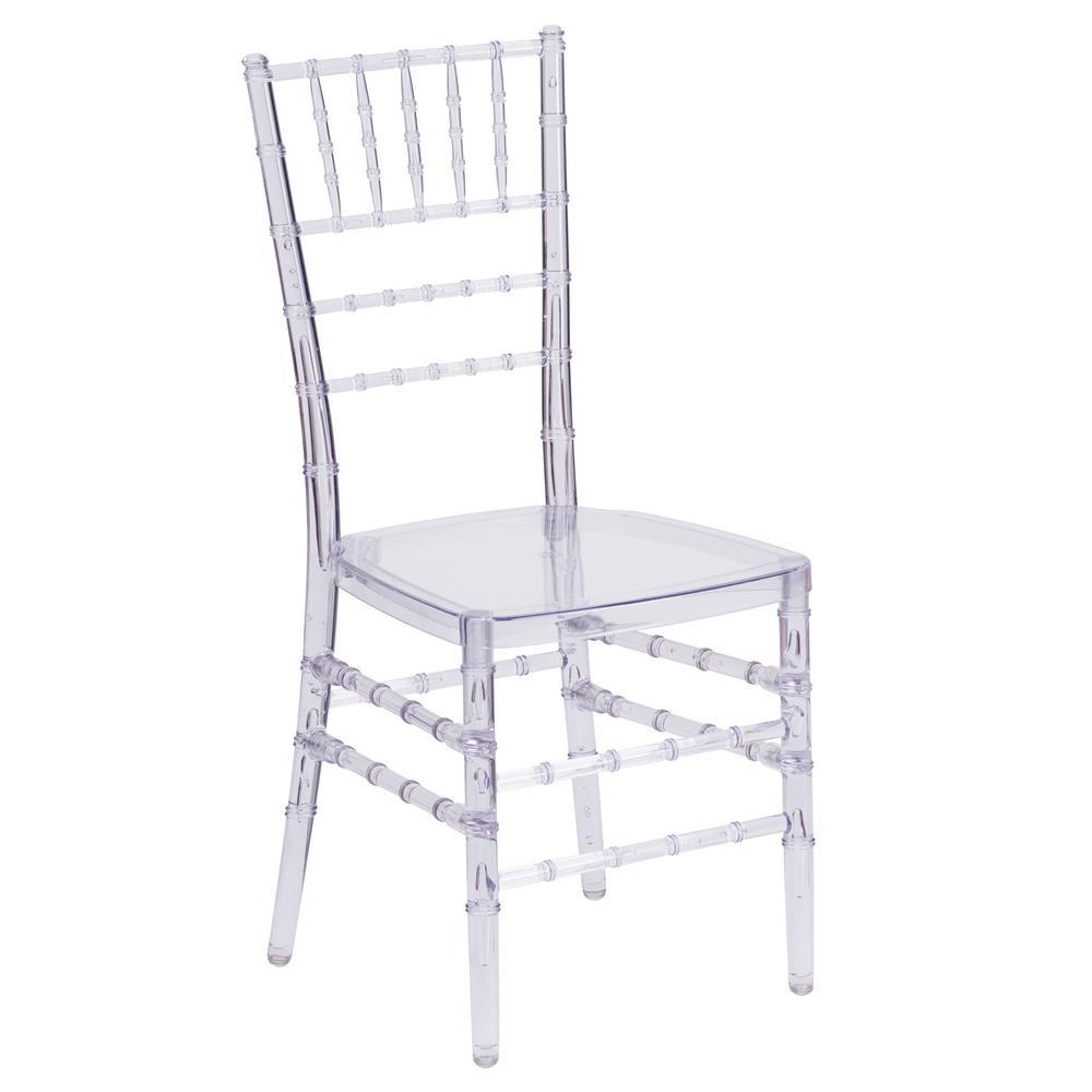 Clear Accent Chair