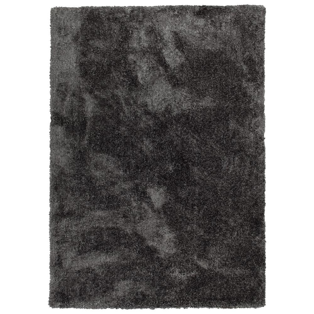 It's So Fabulous Charcoal 5 ft. x 7 ft. Area Rug