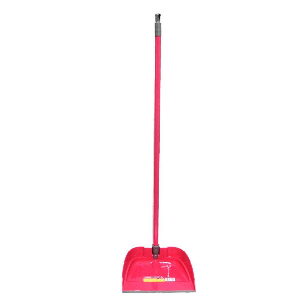 casa LIMPIA PVC Pink Dust Pan