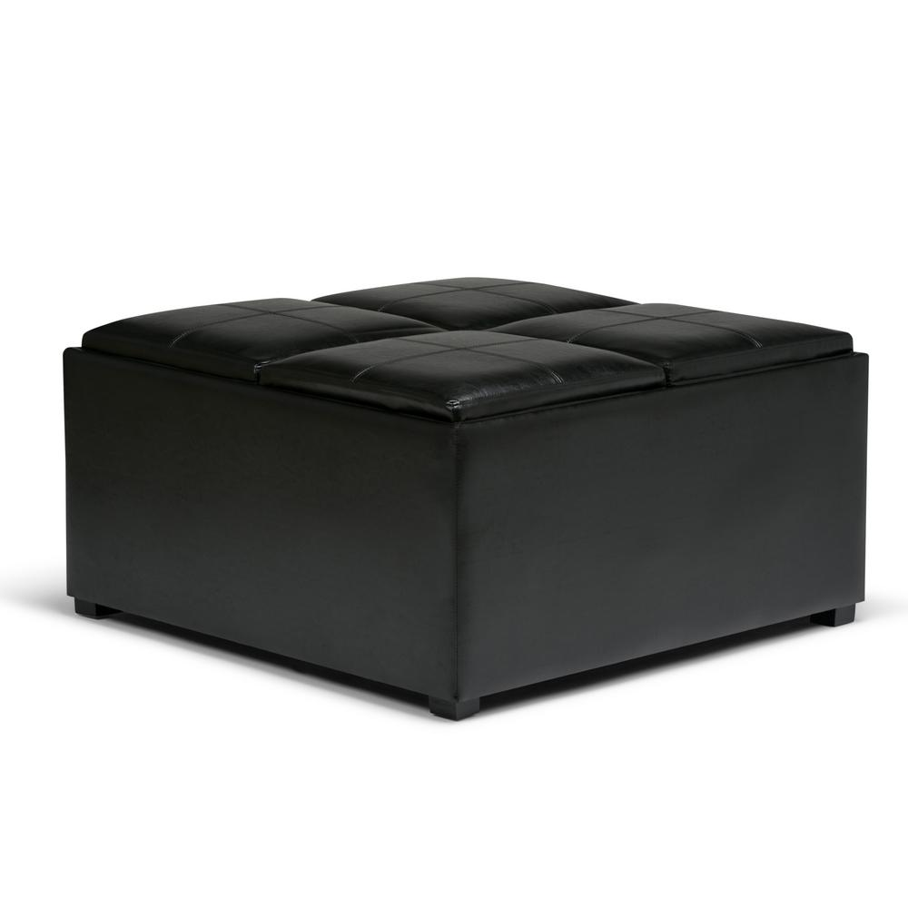 This Review Is From:Avalon Midnight Black Storage Ottoman