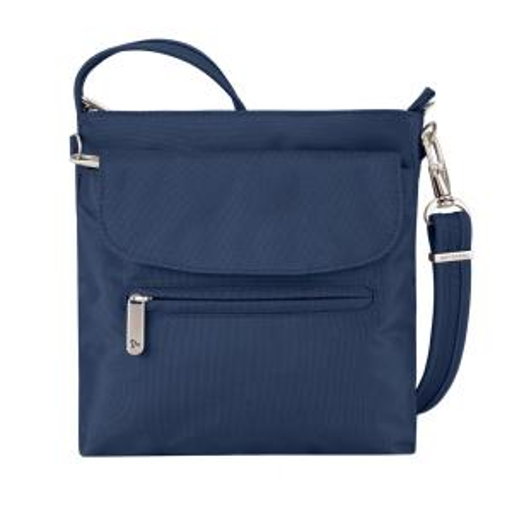 56a137c370 Travelon Purple Anti-Theft Mini Shoulder Bag-42459-150 - The Home Depot