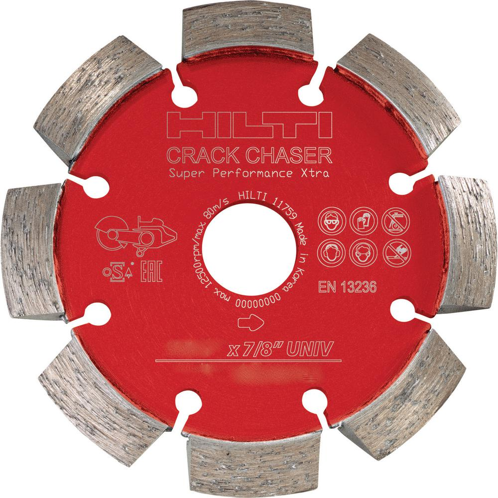 4-1/2 in. Crack Chaser Diamond SPX Cutting Disc for Concrete Repair