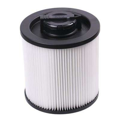 Cartridge Filter - Regular for 6 Gal. to 16 Gal. Wet/Dry Vacuum