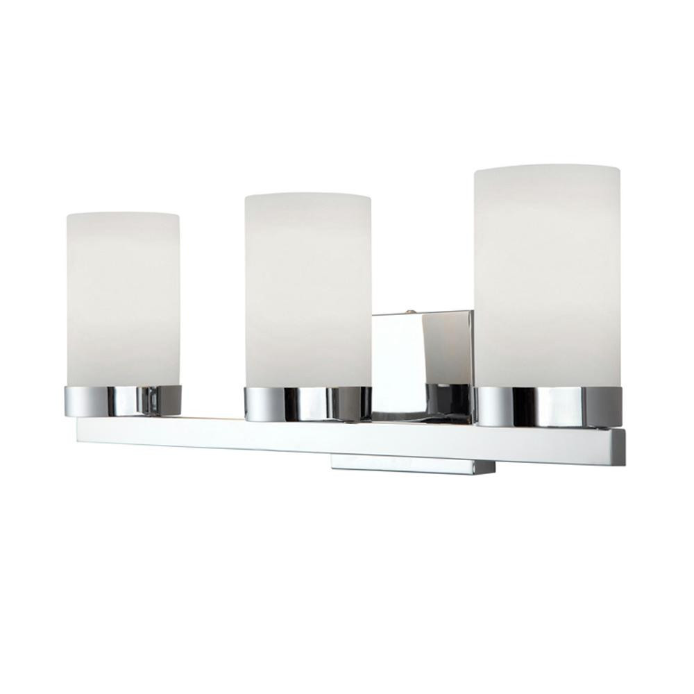 Canarm Milo 3light Chrome Bath Light