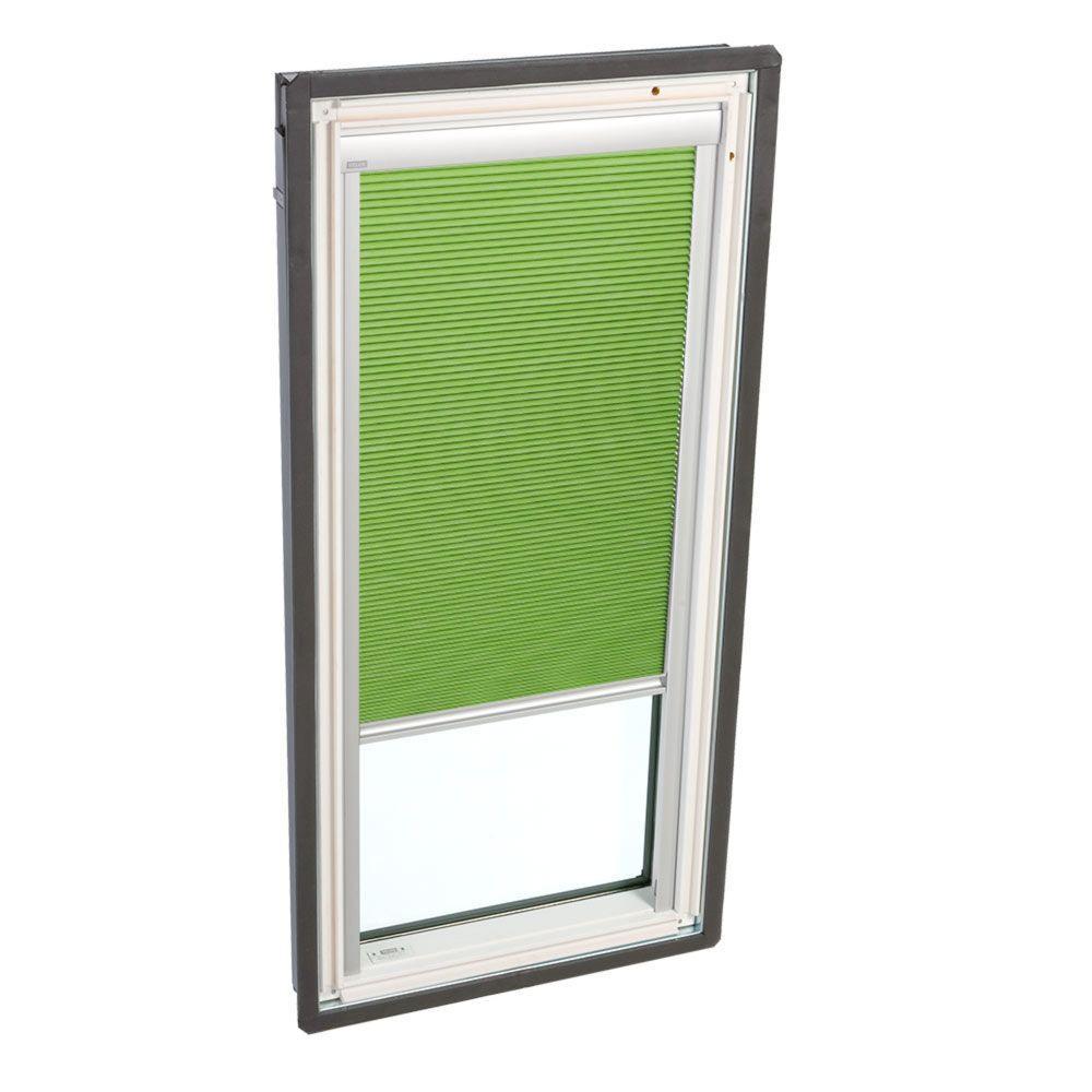 VELUX Manual Room Darkening Green Skylight Blinds for FS D26 and FSR D26 Models