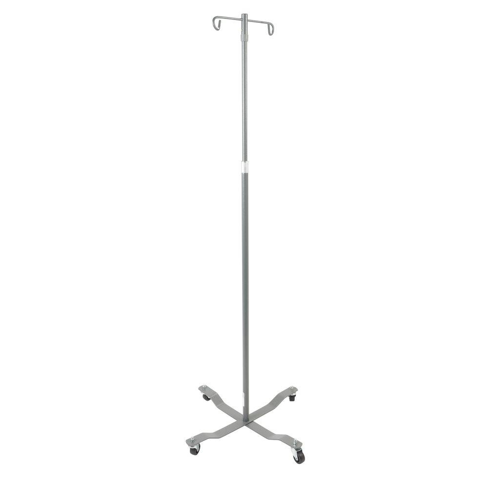 Economy Top Removable IV Pole in Chrome
