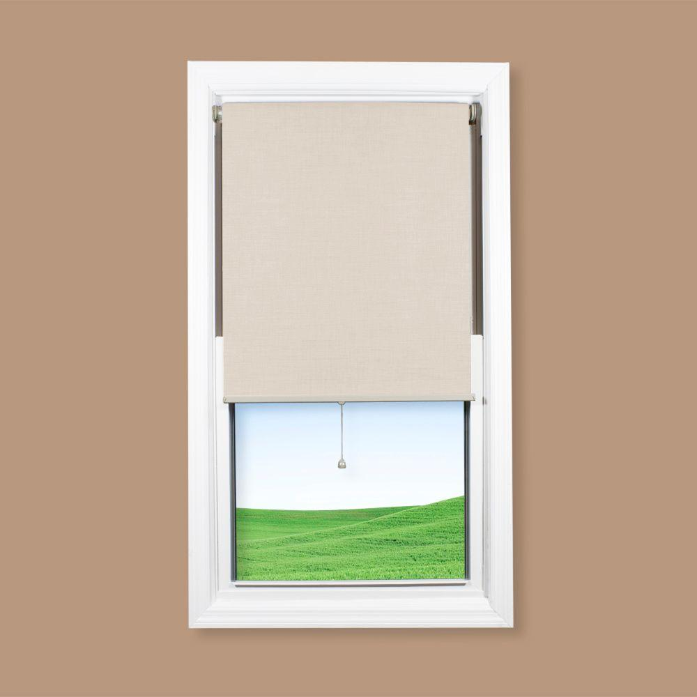 Coolaroo Pearl Interior Cordless Shade - 35 in. W x72 in. L-DISCONTINUED