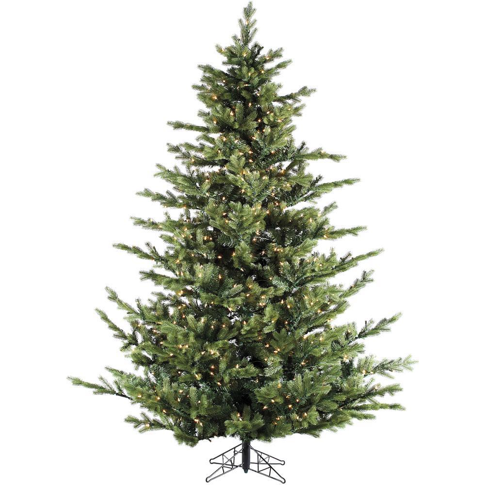 Fraser Hill Farm 12.0 ft. Pre-lit Foxtail Pine Artificial ...