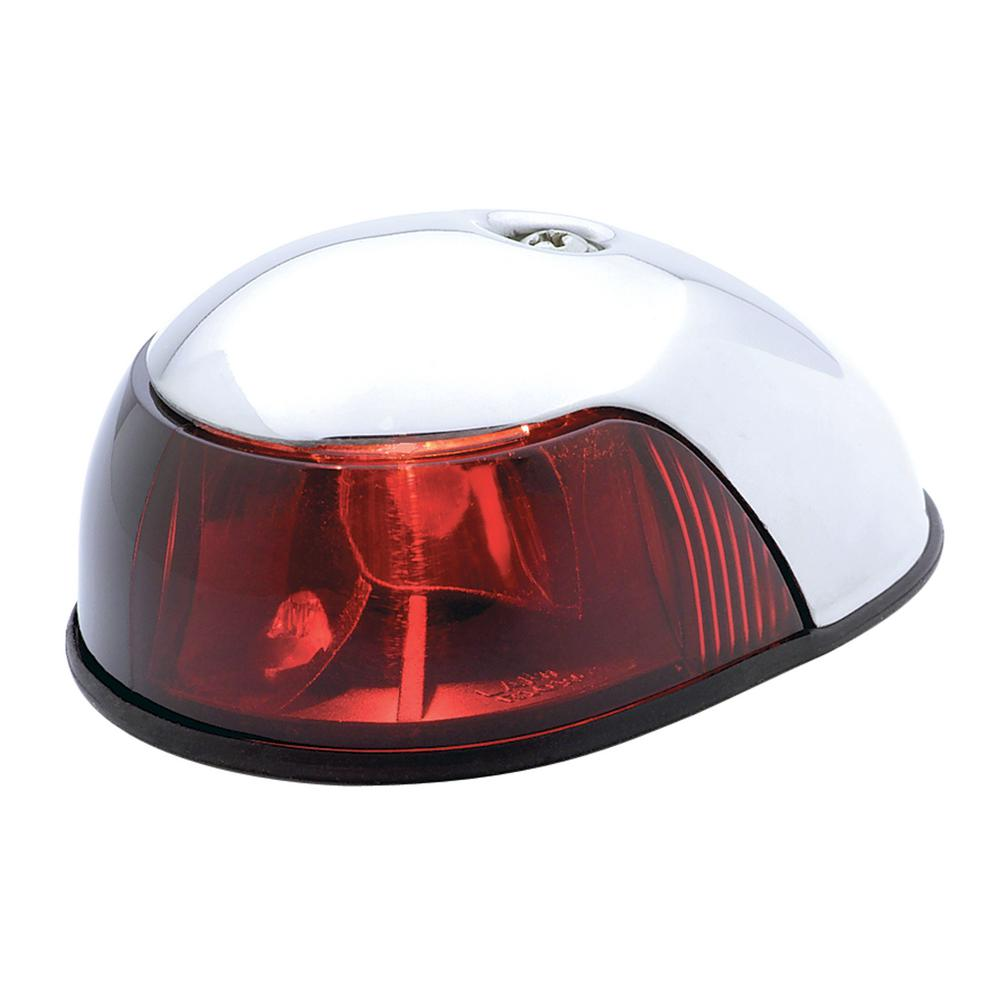 Attwood Deck Mount Navigation Light in Red