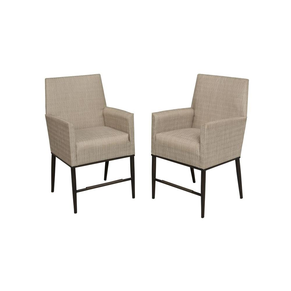 Hampton Bay Aria Patio High Dining Chairs (2-Pack) - Hampton Bay Aria Patio High Dining Chairs (2-Pack)-FCS80223TPK - The