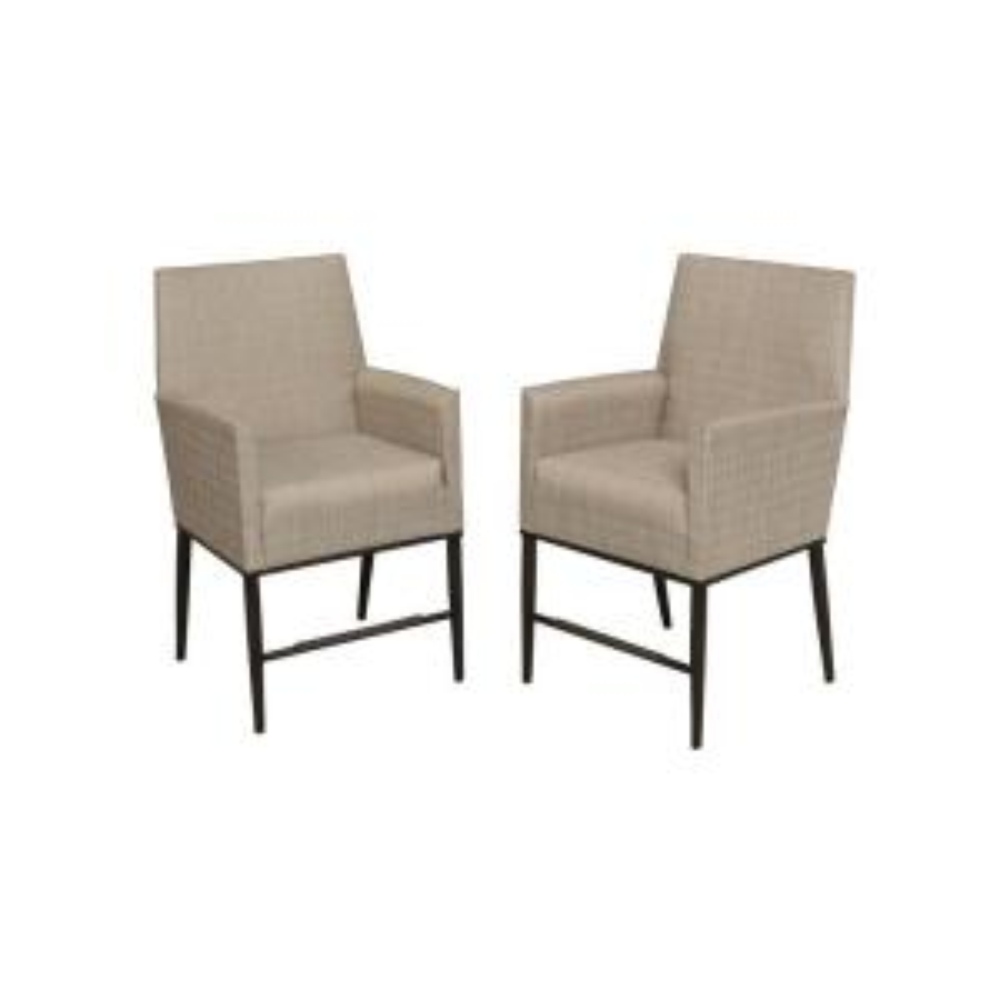 2 Pack Hampton Bay Aria Patio High Dining Chairs