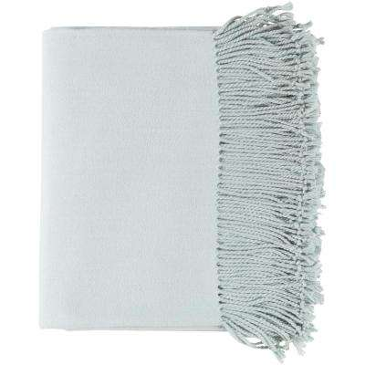 Dunton Silver Gray Throw