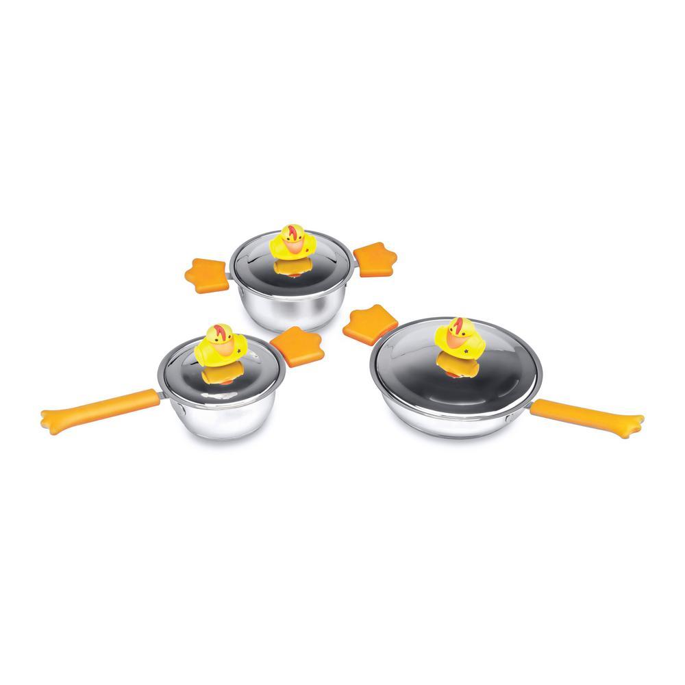 Children's Line 6-Piece Sheriff Duck Cookware Set