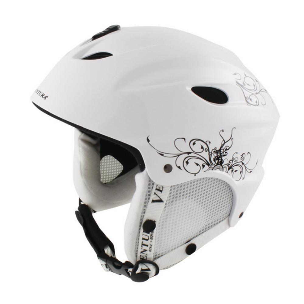 58-61 cm Skiing/Snowboarding Adult Helmet L in White
