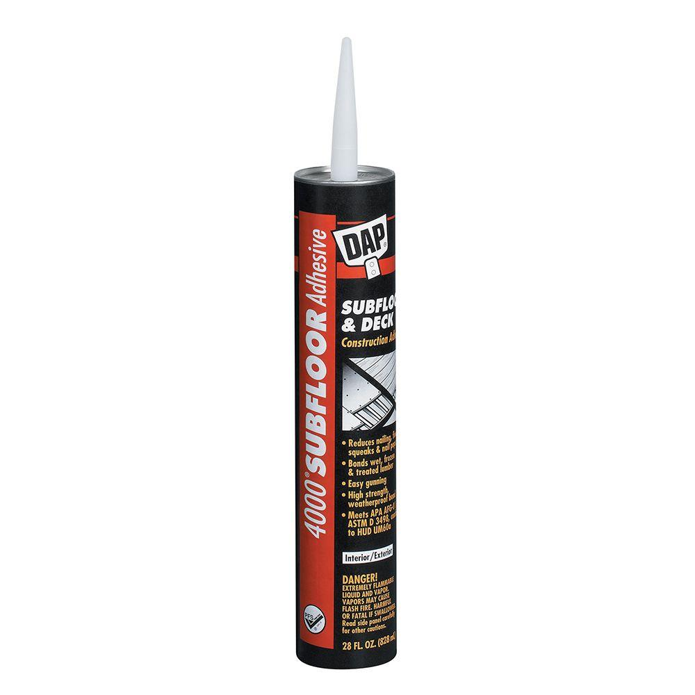4000 28 oz. Subfloor and Deck Construction Adhesive (12-Pack)