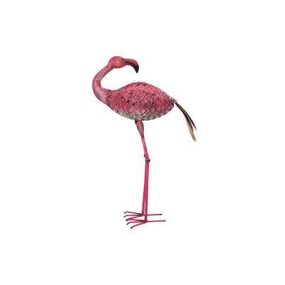 16.93 in. x 7.48 in. x 30.31 in. Flamingo Bird Stake
