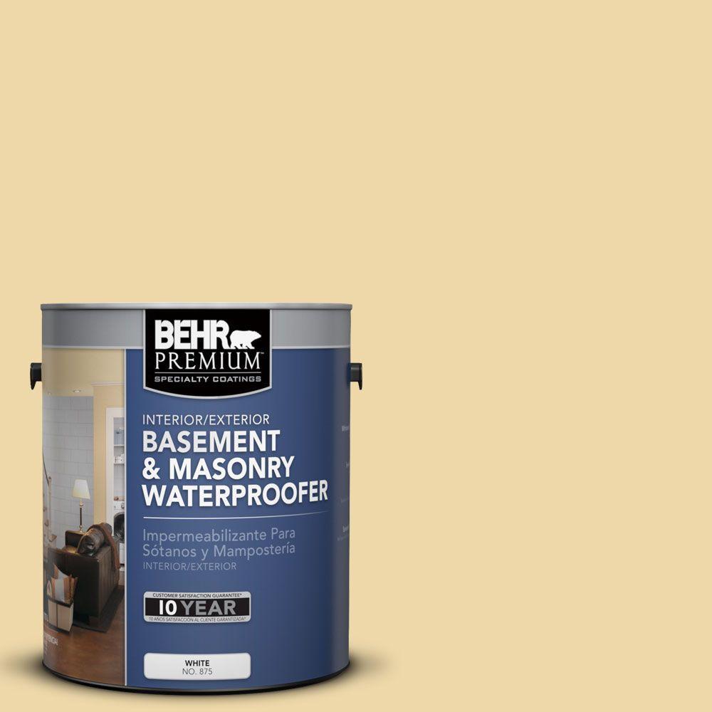 BEHR Premium 1 gal. #BW-30 Sahara Gold Basement and Masonry Waterproofer