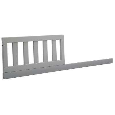 Grey Crib Size Daybed Toddler Guardrail Kit