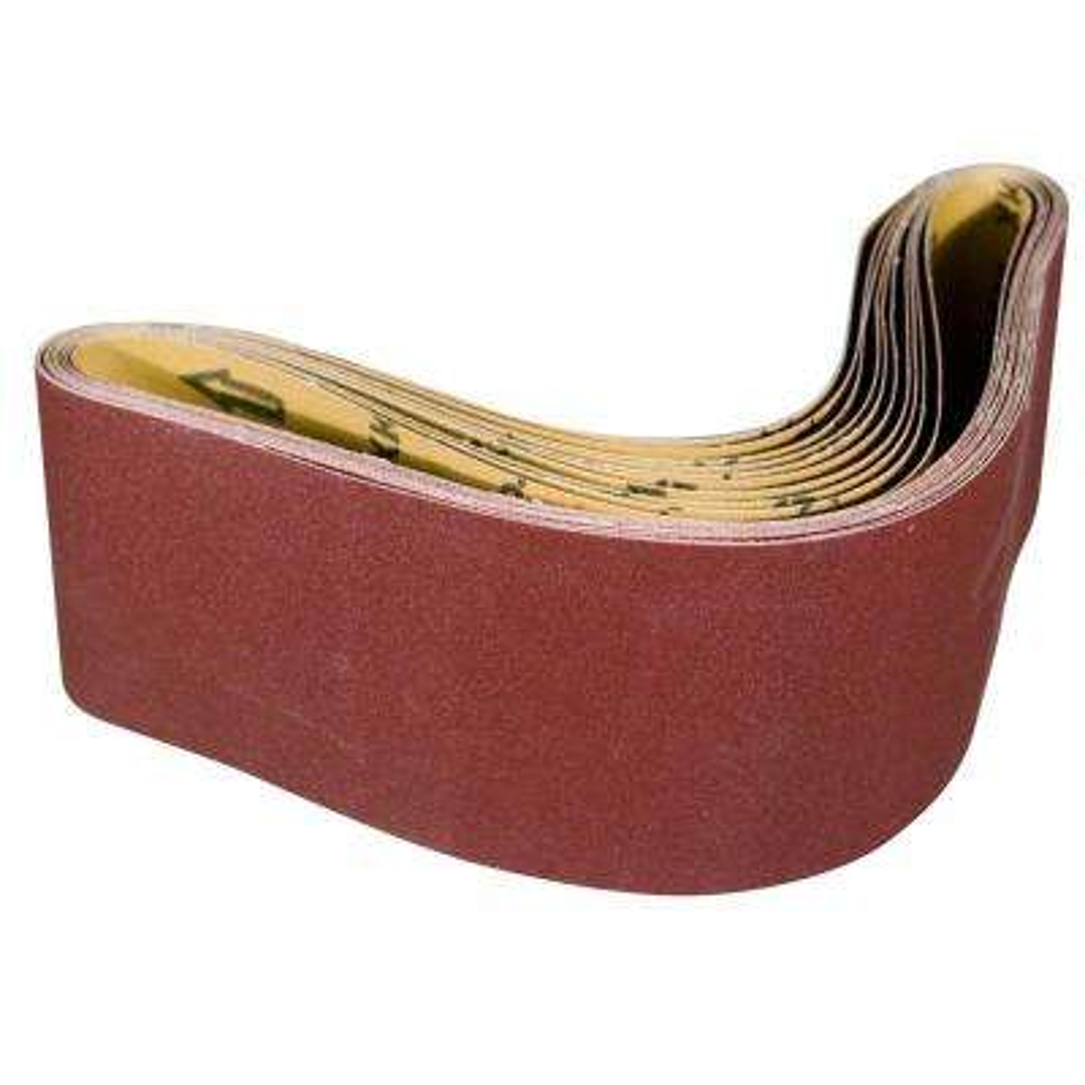 4 in. x 36 in. 40-Grit Aluminum Oxide Sanding Belt (10-Pack)