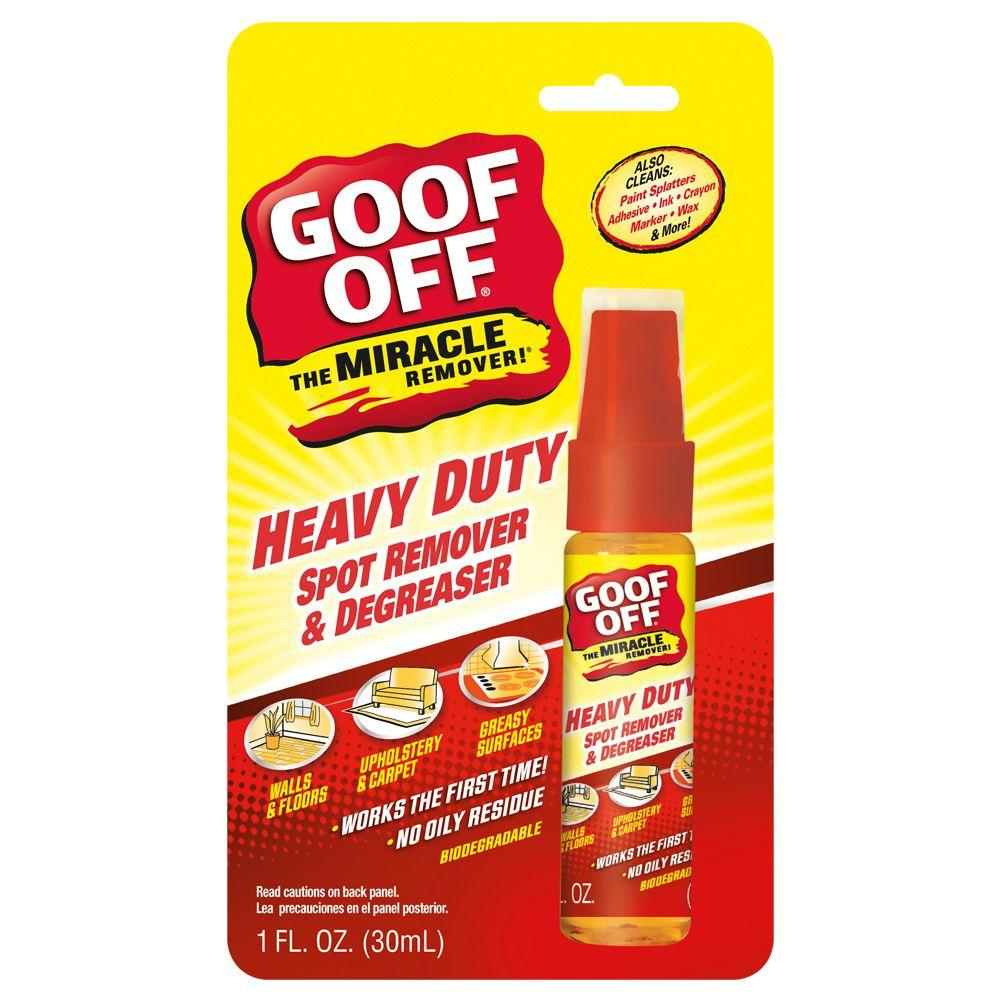 Goof Off 1-oz. Heavy Duty Spot Remover and Degreaser-DISCONTINUED