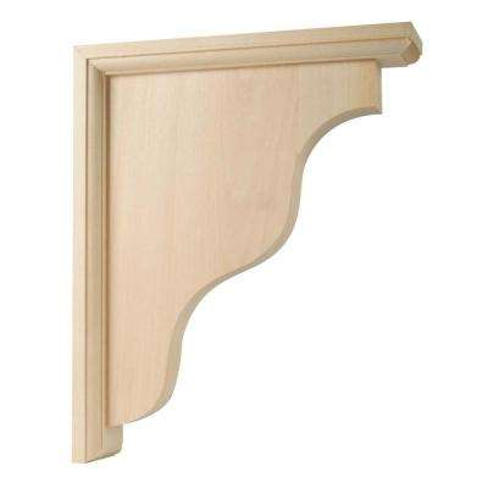 11 in. x 2-1/4 in. x 9 in. 5 lb. Wooden 2-Way Bracket