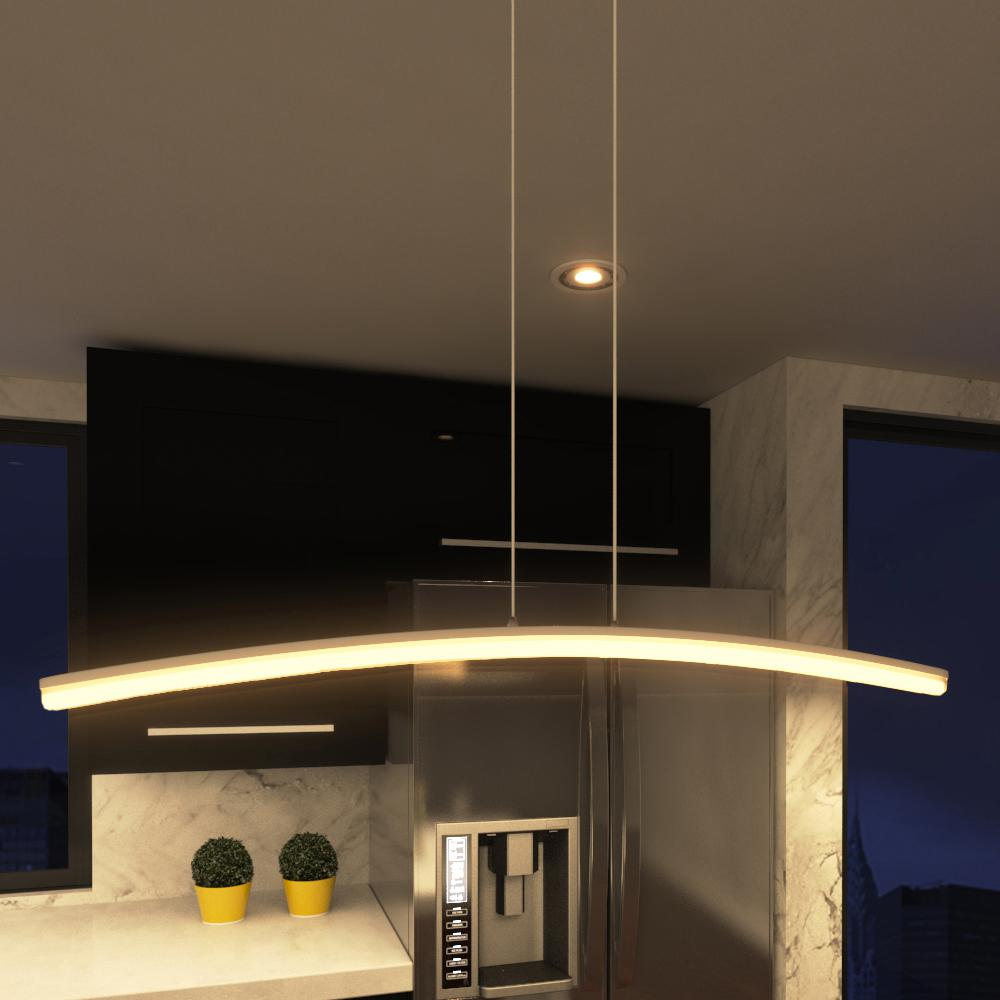 VONN Lighting 24W Haeidi Collection Silver Integrated LED
