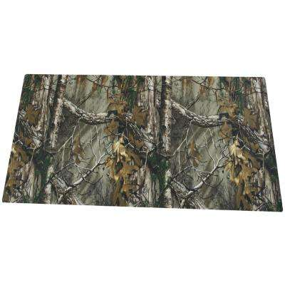 20 in. x 58 in. Realtree Work Bench Mat, Green