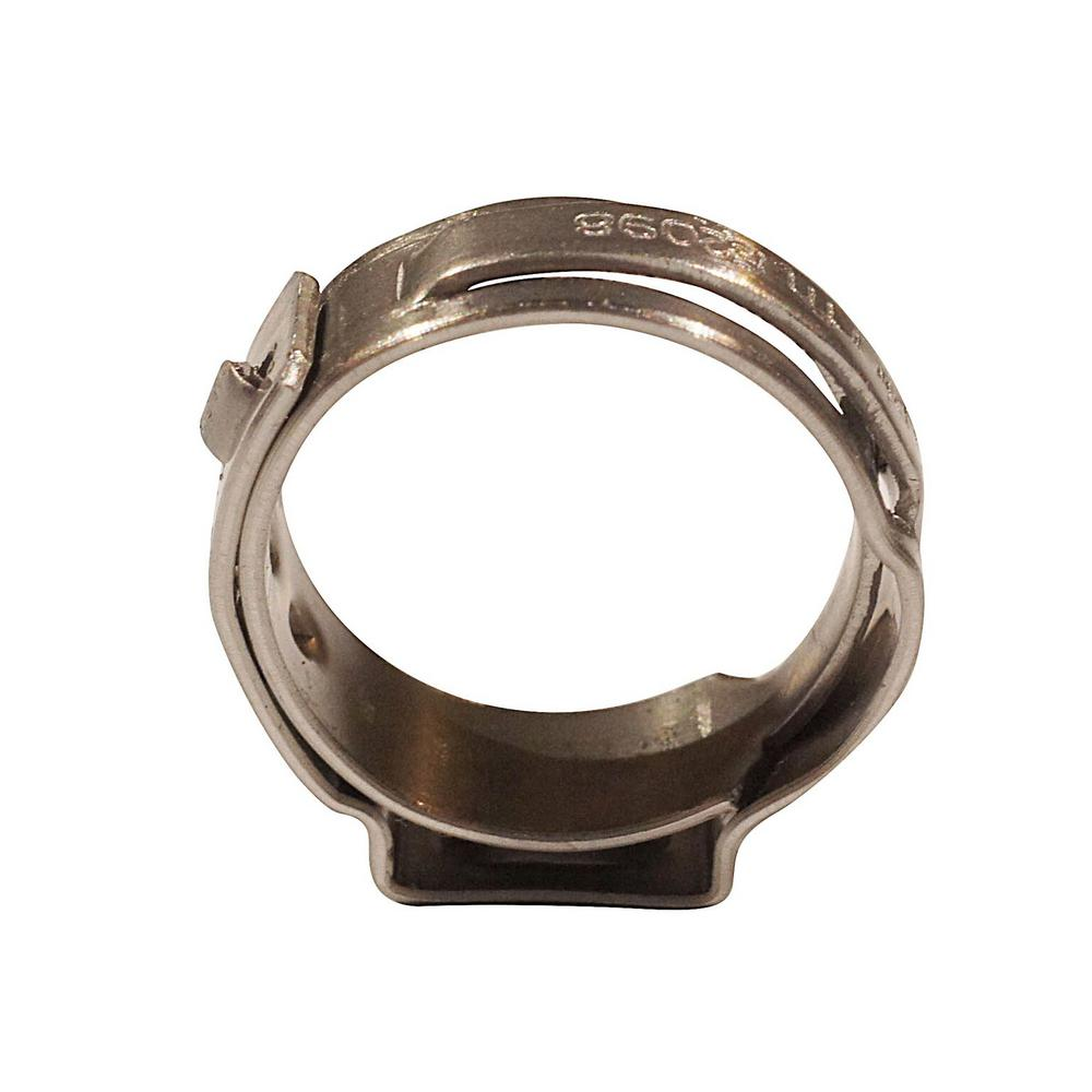 Apollo Apollo 1/2 in. Stainless Steel PEX Barb Pinch Clamp (10-Pack)