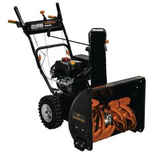 Remington RM2460 24 inch 208cc 2-Stage Electric Start Gas Snow Blower by Remington