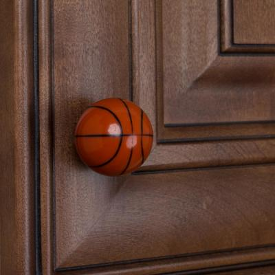 1-1/4 in. Dia Basketball Sports Cabinet Dresser Knob (10-Pack)