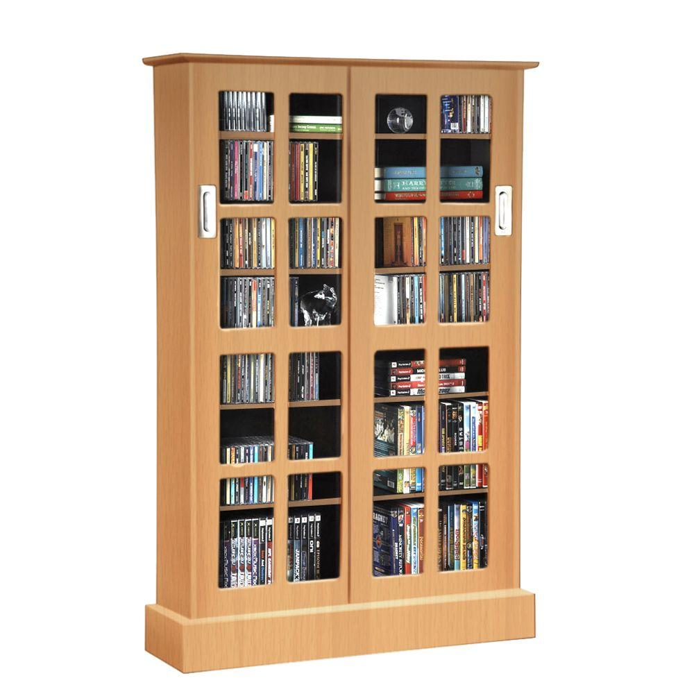 Cd Dvd Cabinets Media Storage Living Room Furniture The Home