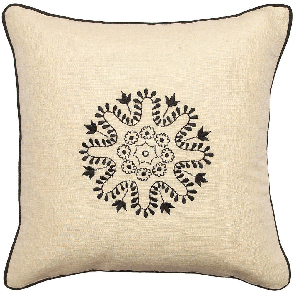 Artistic Weavers Center1 18 in. x 18 in. Decorative Down Pillow-DISCONTINUED