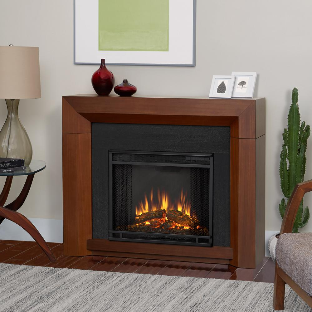 vintage black maple real flame freestanding electric fireplaces 3001e vbm 64_1000 hampton bay cedarstone 29 in 3 element mantel infrared electric Electric Fireplace Electrical at readyjetset.co