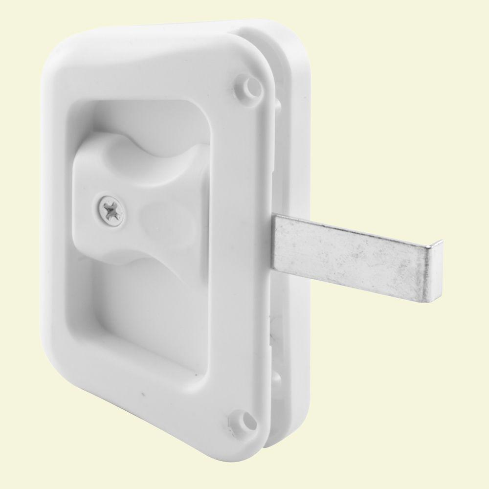 Prime Line White Sliding Screen Door Latch With Screw A 228 The