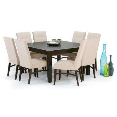 Eastwood Java Brown Dining Table
