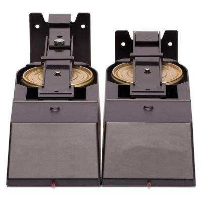 Microhood Cooktop Fire Suppressor in Black 1 Pair (2 pack)