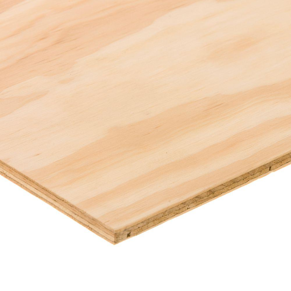 BC Sanded Plywood (Common: 7/32 in. x 2 ft. x 2