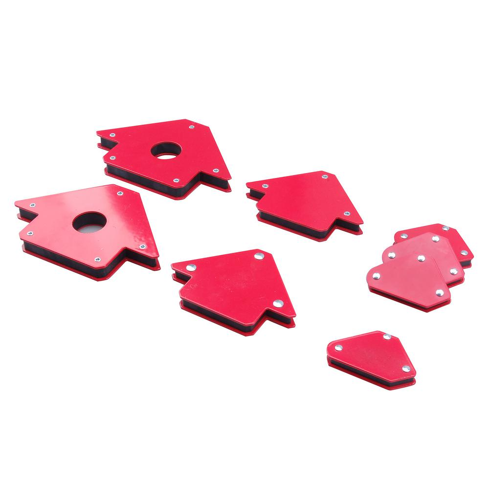 Steel Core Strong Welding Magnet Arrow Holders (8-Pack)