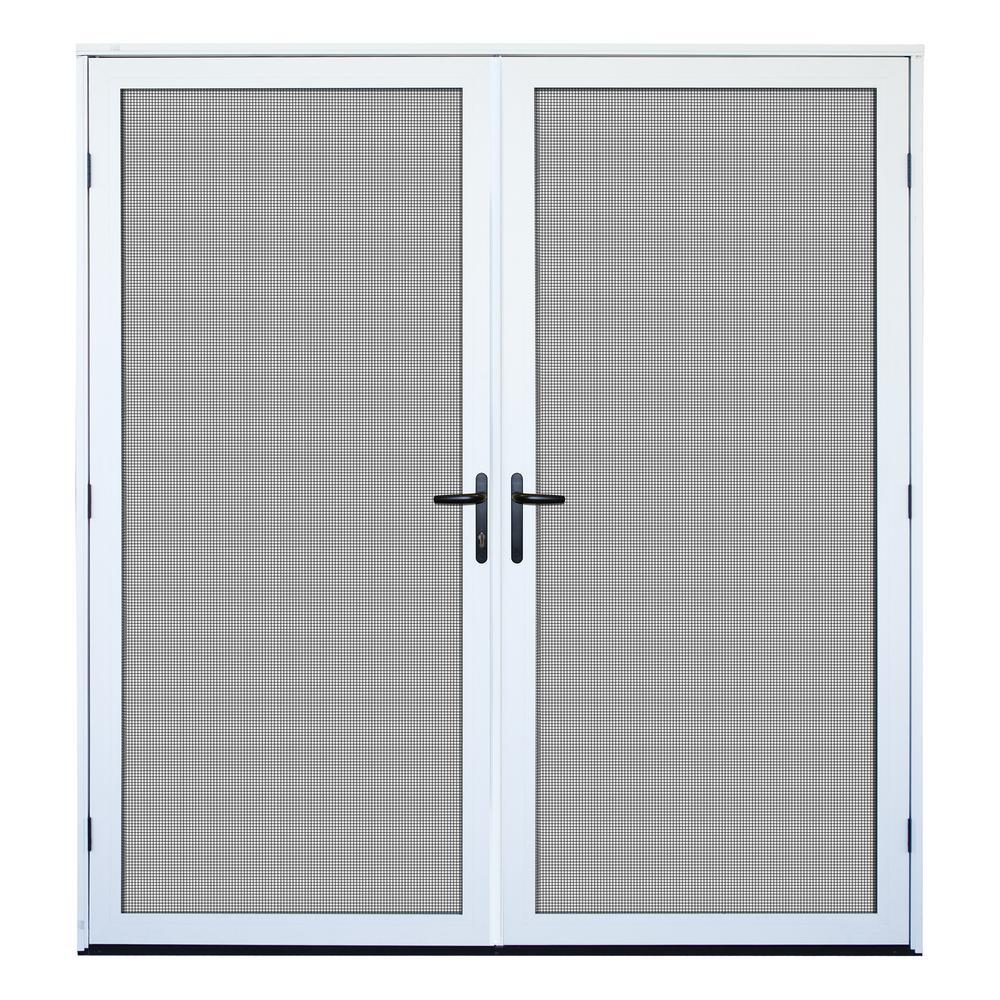 Aluminum Security Doors Exterior Doors The Home Depot