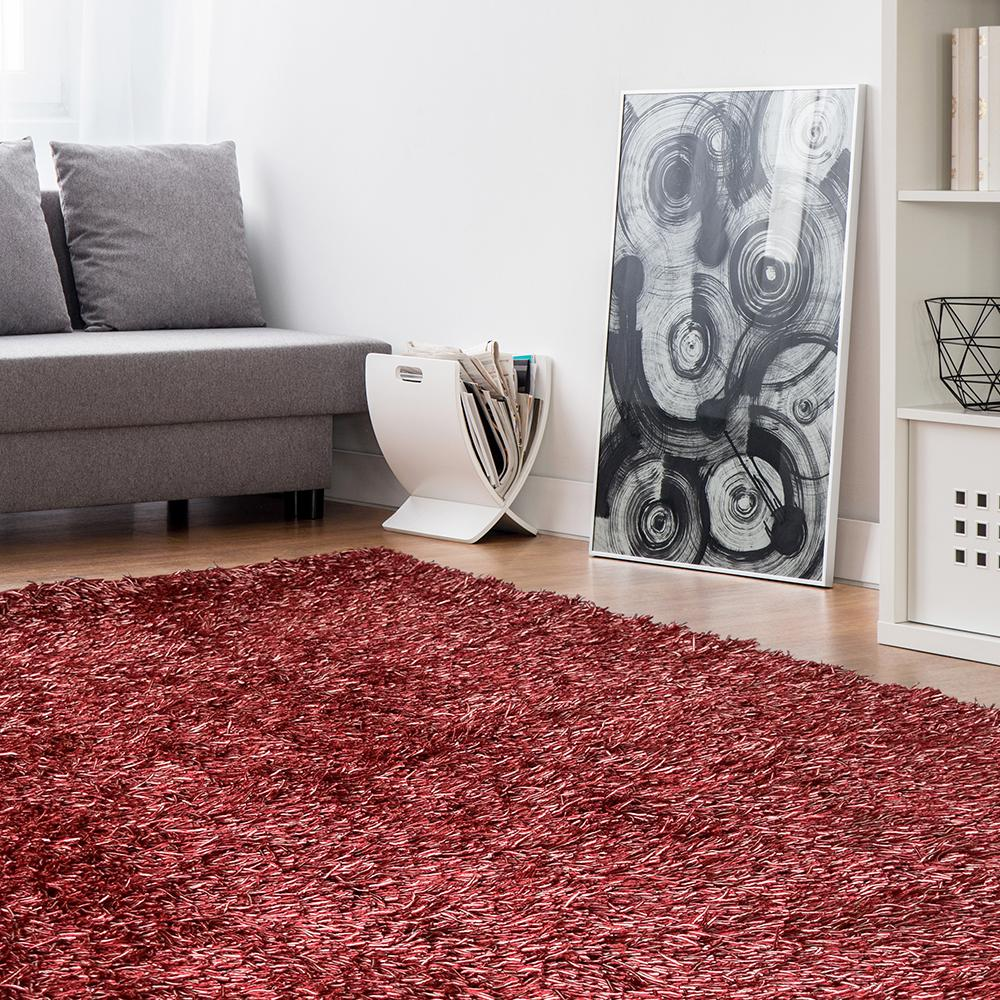 Lanart Electric Ave Coral 4 ft. x 6 ft. Area Rug
