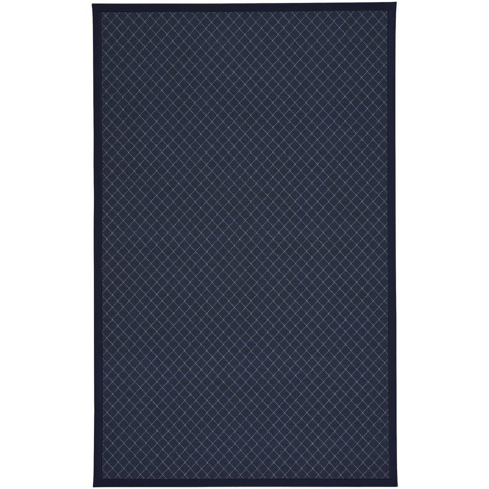 Tack Dark Blue 3 ft. x 5 ft. Area Rug